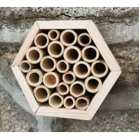 Hexagonal Insect Hotel - Bamboo